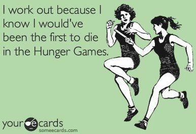 Hunger Games humor:)