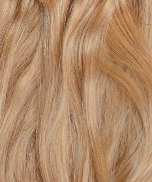 Strawberry Blonde Clip In Hair Extensions 20 Inches 200 Gram