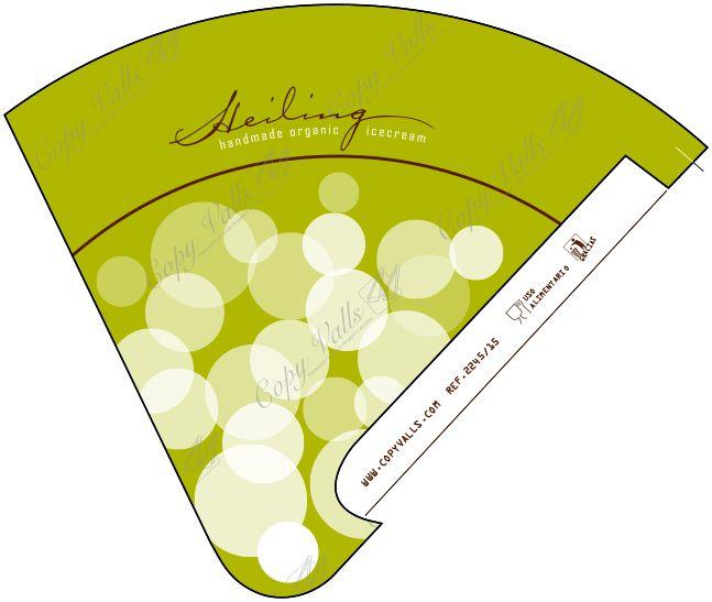 Design of Heiling's sleeve, from Austria | Diseño de la funda de Heiling, Austria