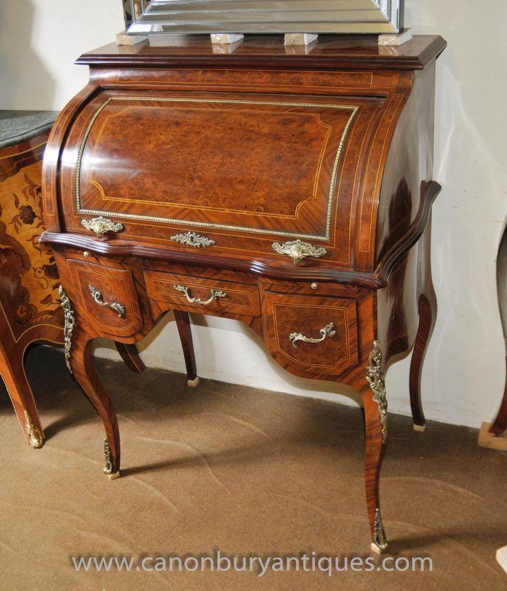 Antique desks in antique furniture