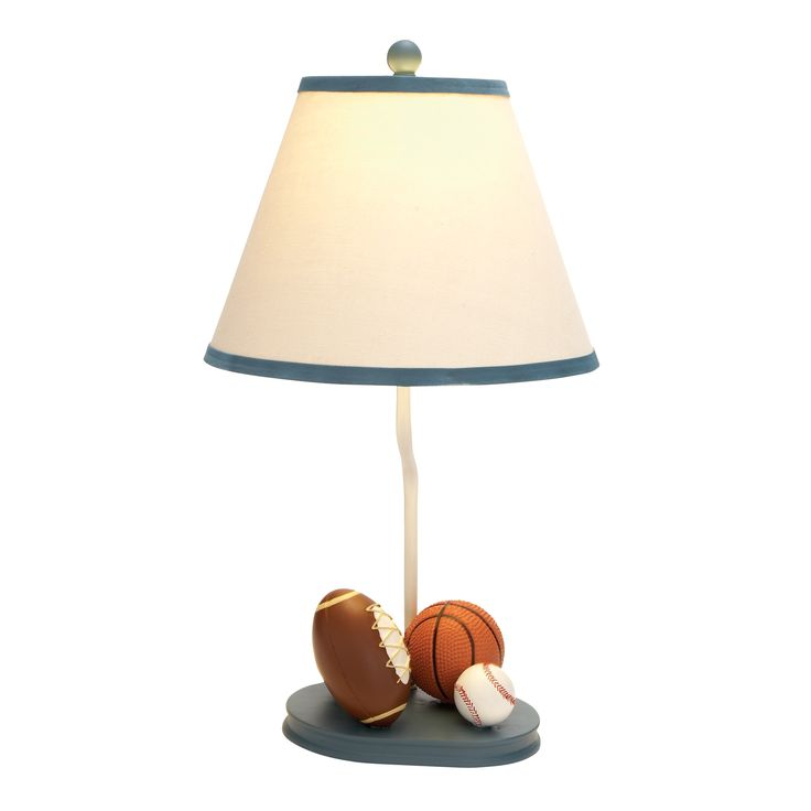 """Woodland Imports Sports 22"""" H Table Lamp with Empire Shade"""