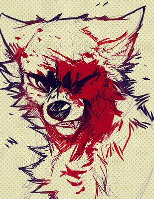 Drawing by Falvie #Furry