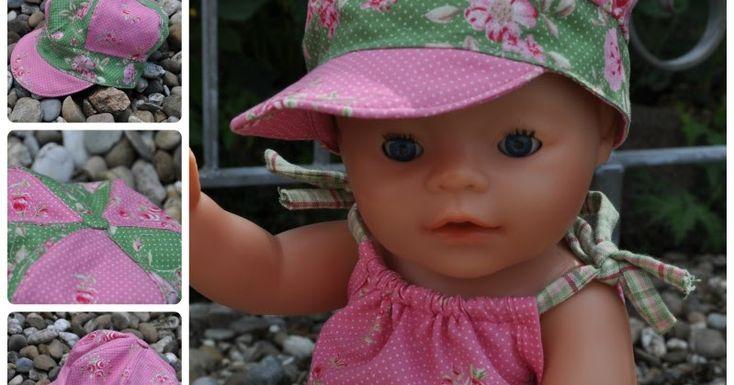 Nähen: MMMütze - Schlupf-Schalmütze für kleine Kinder Mila - Schirmmütze mit und ohne Ballon Molly - Overall für Puppenkinder Wi...