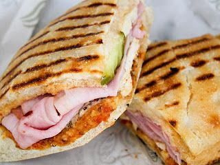 Panera Bread Restaurant Copycat Recipes: Cuban Chicken Panini