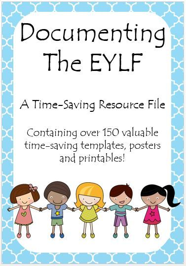 This Documenting the EYLF resource file contains over 150 valuable time saving templates, posters and printables to make documenting your childrens learning easy! 150 pages for $40! http://designedbyteachers.com.au/marketplace/documenting-the-eylf-a-timesaving-resource-file/