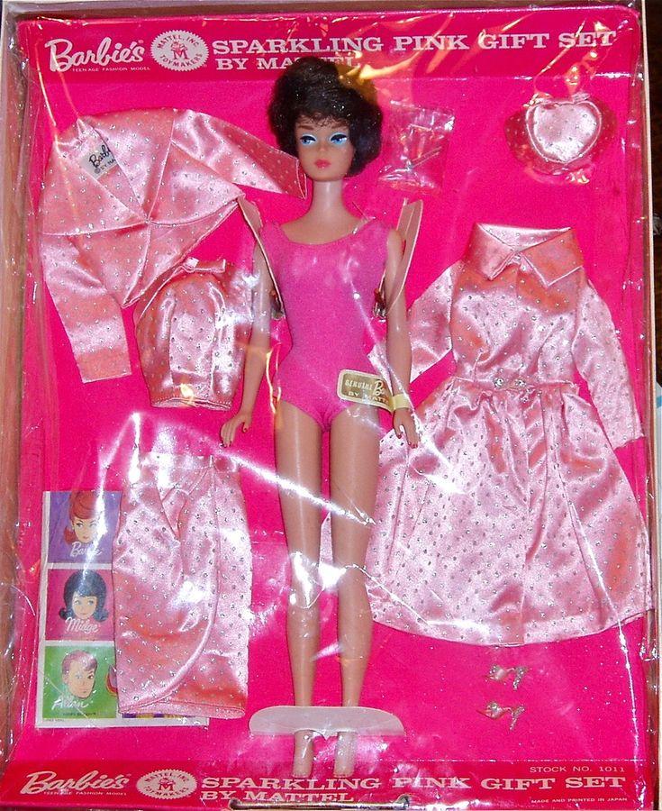 Best vintage barbie family gift sets images on