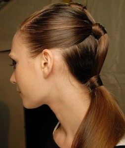 2012 Summer Ponytail Long Hairstyle queue de cheval