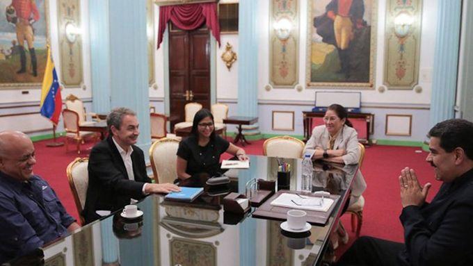 Presidente Maduro sostuvo encuentro con José Luis Rodríguez Zapatero