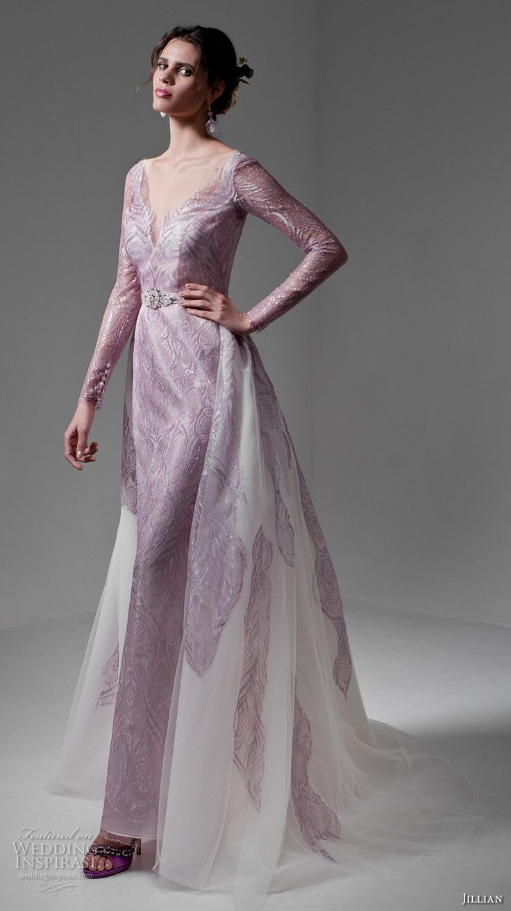 21 best Purple & Violet Gowns images on Pinterest | Short wedding ...