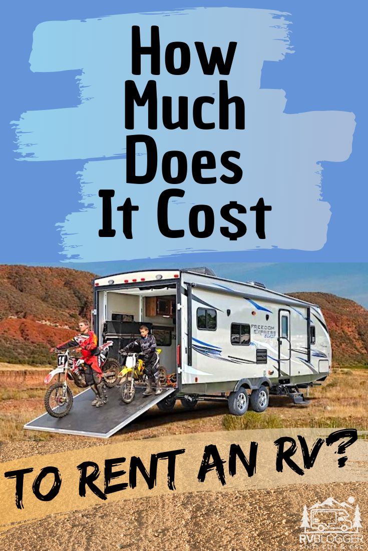 how much is it to rent a pop up camper
