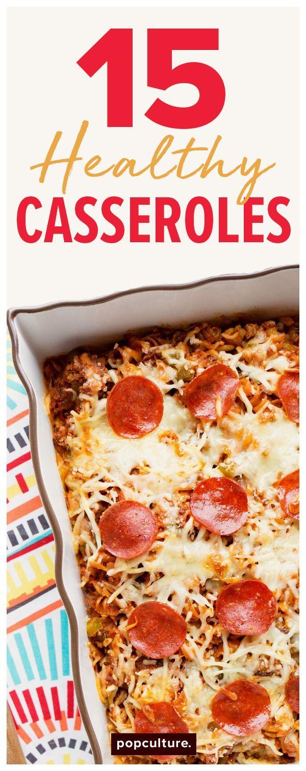 15 low-calorie (and delicious) casseroles