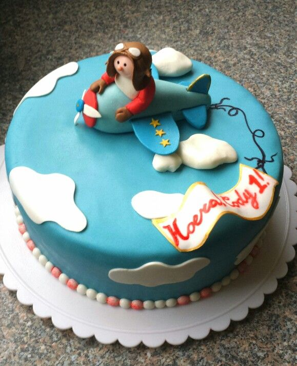 Vliegtuig Taart - Sweet Babycakes http://www.sweet-babycakes.nl
