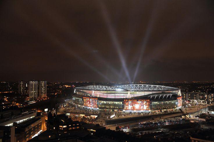Emirates Stadium. Arsenal 2:1 Barcelona, UEFA Champions League, Emirates Stadium, Arsenal Football Club, London, 16/2/2011. Credit : Mike King / Arsenal Football Club.