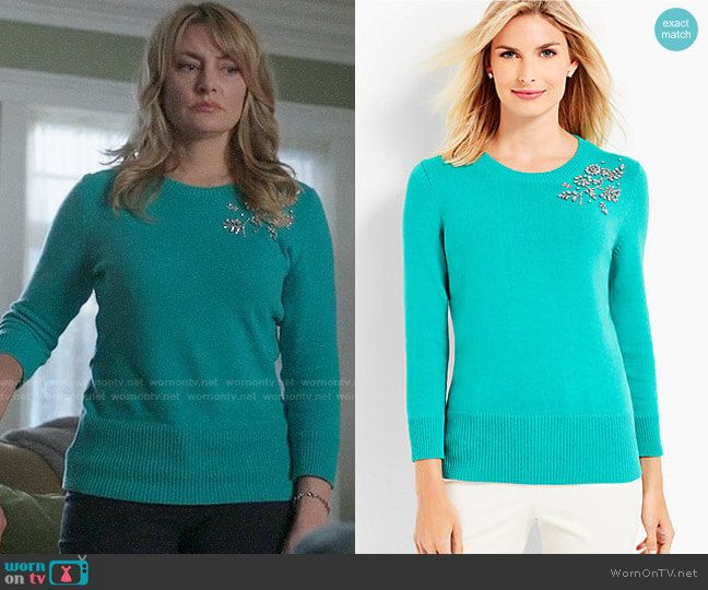 Alice S Green Embellished Sweater On Riverdale Fashion Fashion
