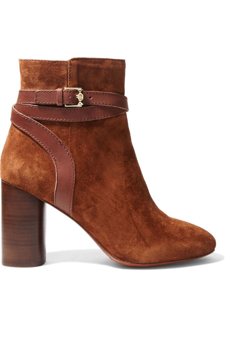 Shop on-sale ASH Glenda Baby buckled suede ankle boots. Browse other discount designer Boots & more on The Most Fashionable Fashion Outlet, THE OUTNET.COM