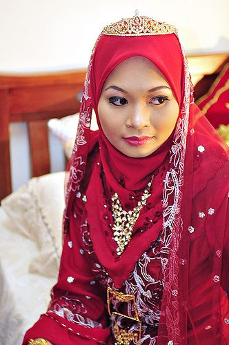 Malaysian bride.