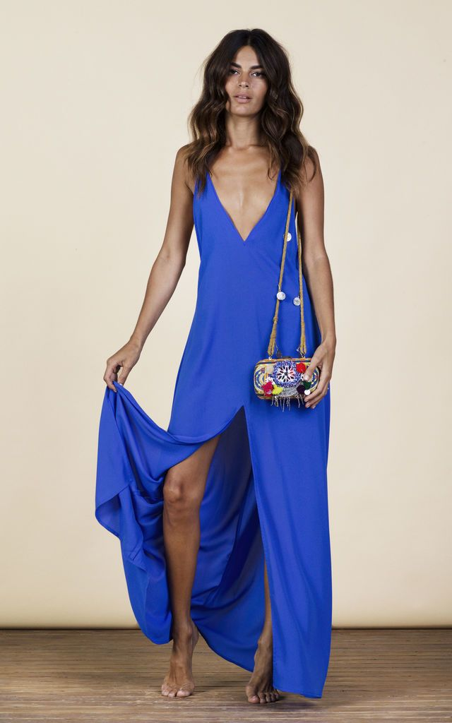 Click to view Rafaela Dress in Summer Blue