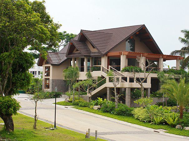 Tag a take on the modern bahay kubo the o 39 jays for Modern bamboo house plans