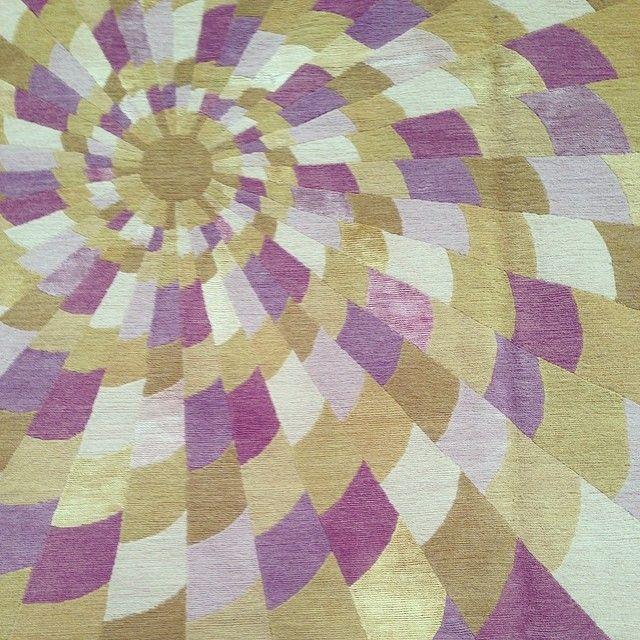 #EmmaGardner geometric rug.: Geometric Rug