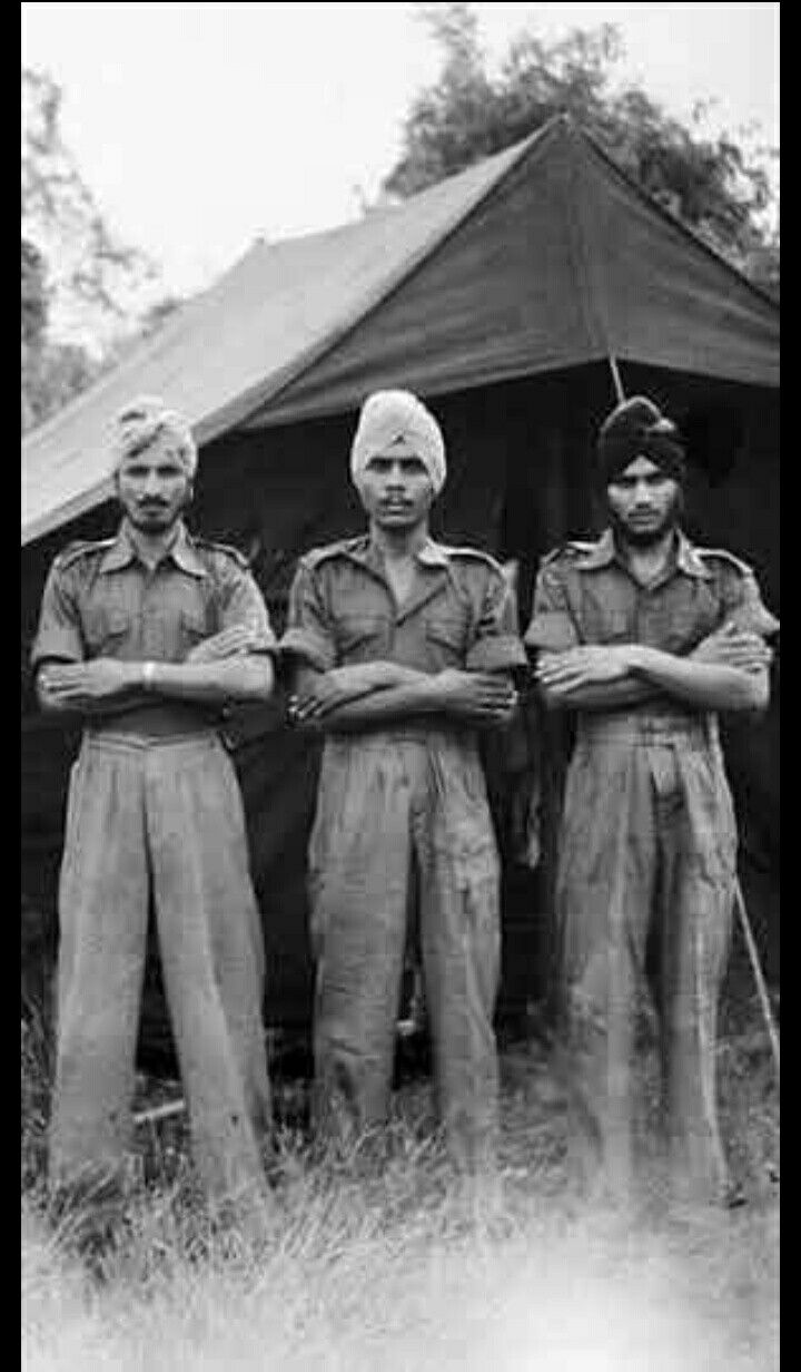 Lutong.. Borneo.. July 5 1945.. Corporal Surat Singh.. Supper Ujaggar Singh & Sapper Chuher Singh were imprisoned by Japanese at Singapore.. But managed to escape into jungle & survived.