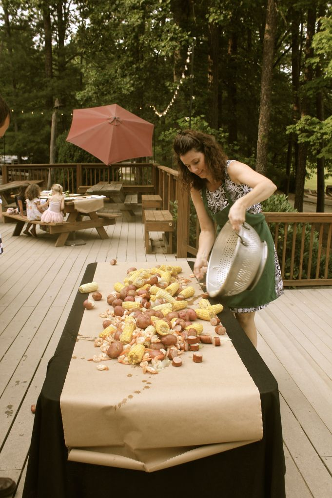 Low Country Boil….for large garden party
