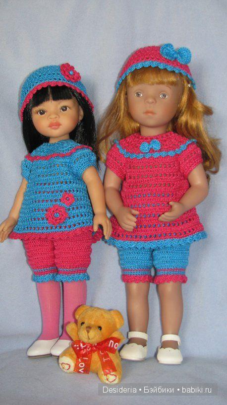 Яркие наряды для яркого настроения: весенние вязалочки для Паолочки и Минуш / Одежда и обувь для кукол - своими руками и не только / Бэйбики. Куклы фото. Одежда для кукол