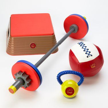 Again Faster - Equipment for CrossFit - WOD Toys Kids Set