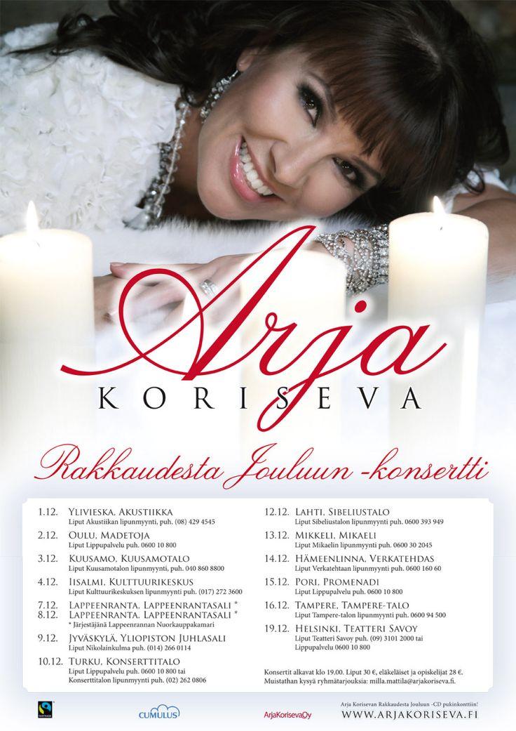 Arja Koriseva: Rakkaudesta jouluun