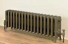 low cast iron radiator
