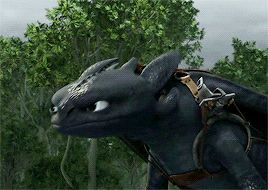 """wookieeleaks: """"I'm Toothless (in both gifs) """""""