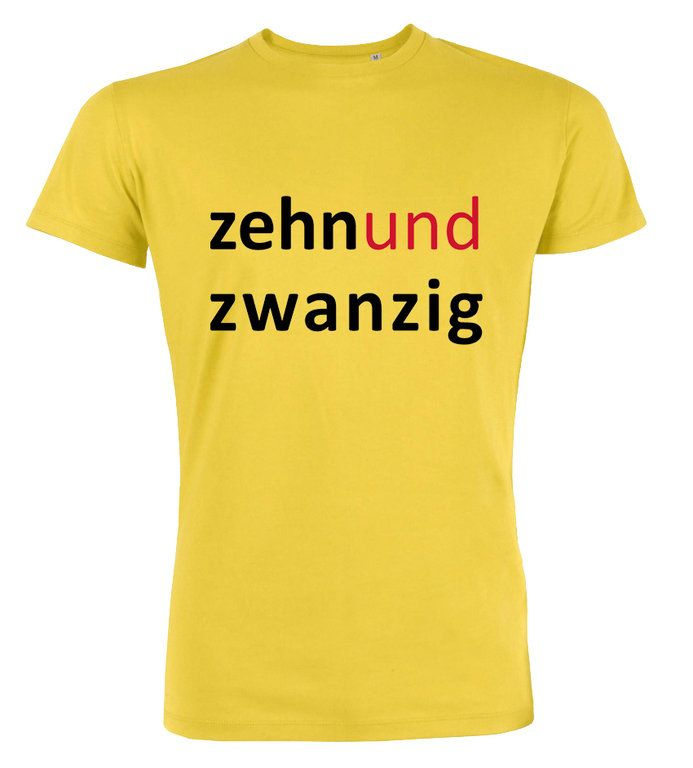 Zehn und Zwanzig - T-Shirt zum 30. Geburtstag