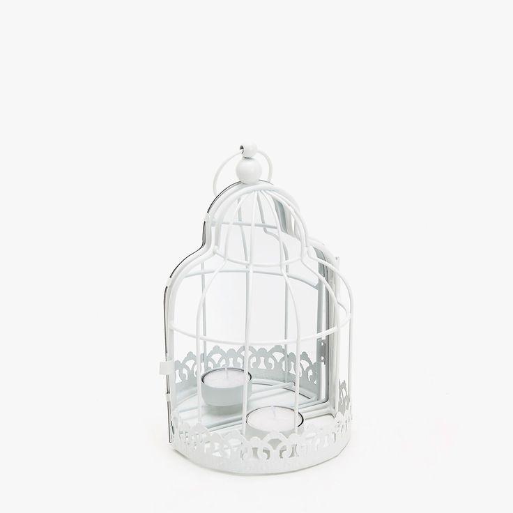 Imagem 1 de produto Porta-velas gaiola e espelho