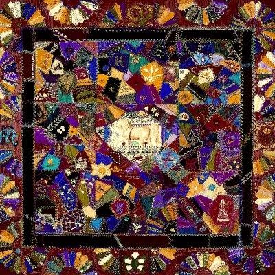 116 best Crazy Quilts images on Pinterest | Crazy quilting, Crazy ... : crazy quilt definition - Adamdwight.com