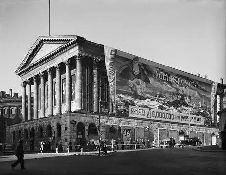 Birmingham Town Hall, Victoria Square, Birmingham 1941