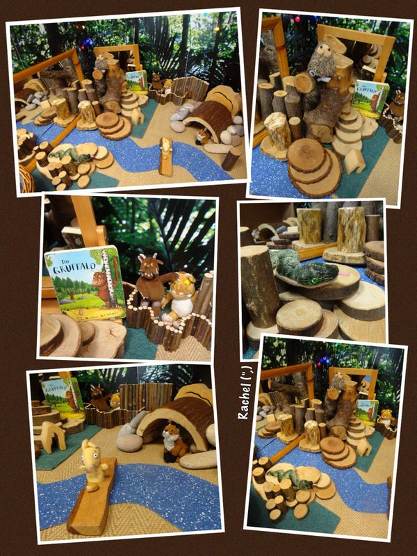 Gruffalo Small World play (from Stimulating Learning With Rachel)
