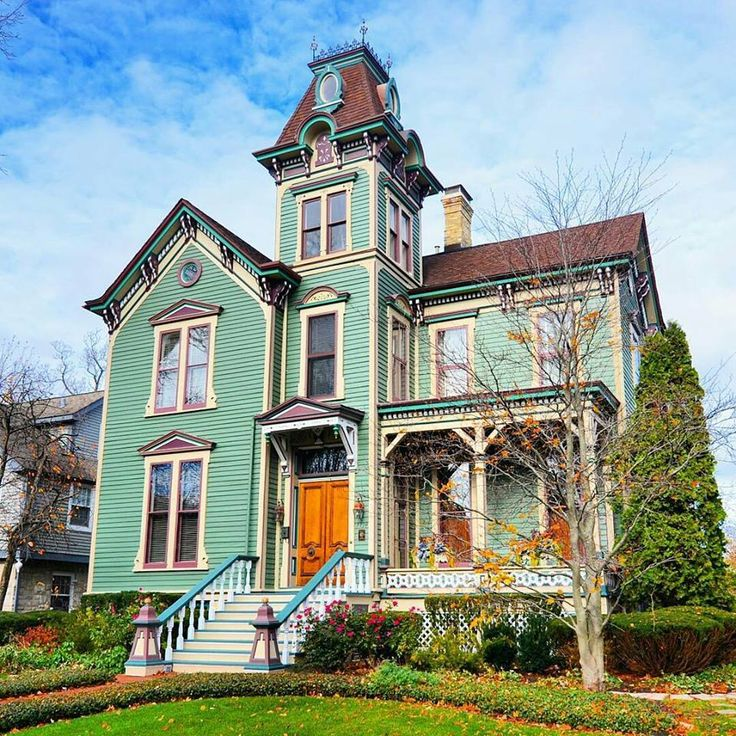 199 best second empire houses images on pinterest Modern victorian architecture