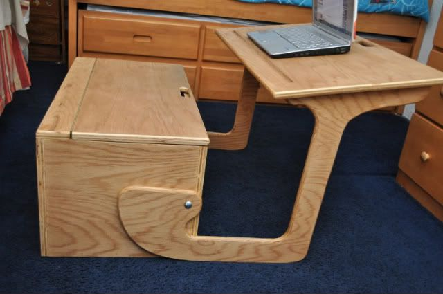 toy box plans | Desk/toy box combo from Woody57 - by musicman @ LumberJocks.com ...