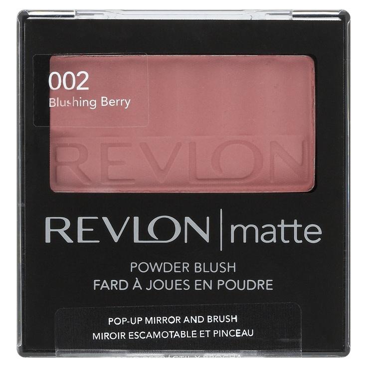 Revlon Matte Powder Blush in Blushing Berry -Péssimo blush não dá cor nem nas peles mais claras - Awful blush has no color pay off.
