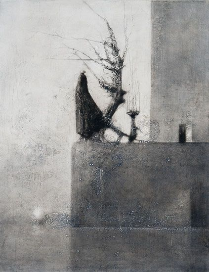 """At The Harbour"" Painting by Timo Sälekivi. Via http://www.salekivi.fi/"