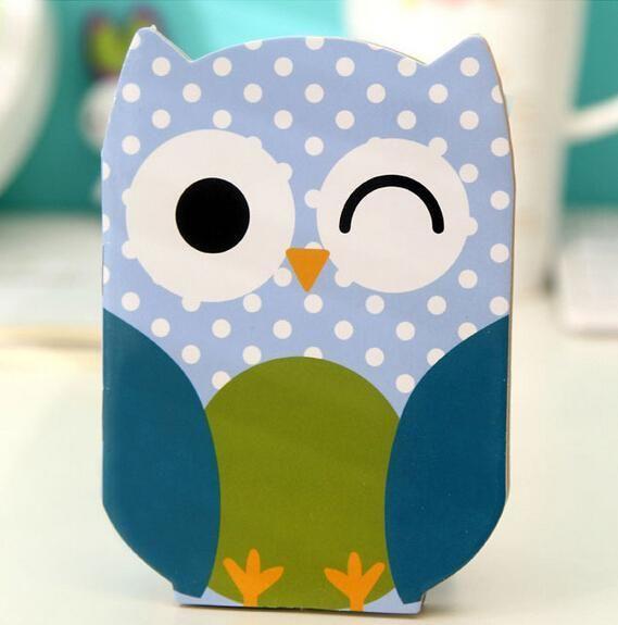 Cute Owl Notebook  -  Shop the Cutest Stuff on Earth: CuteFTW.com