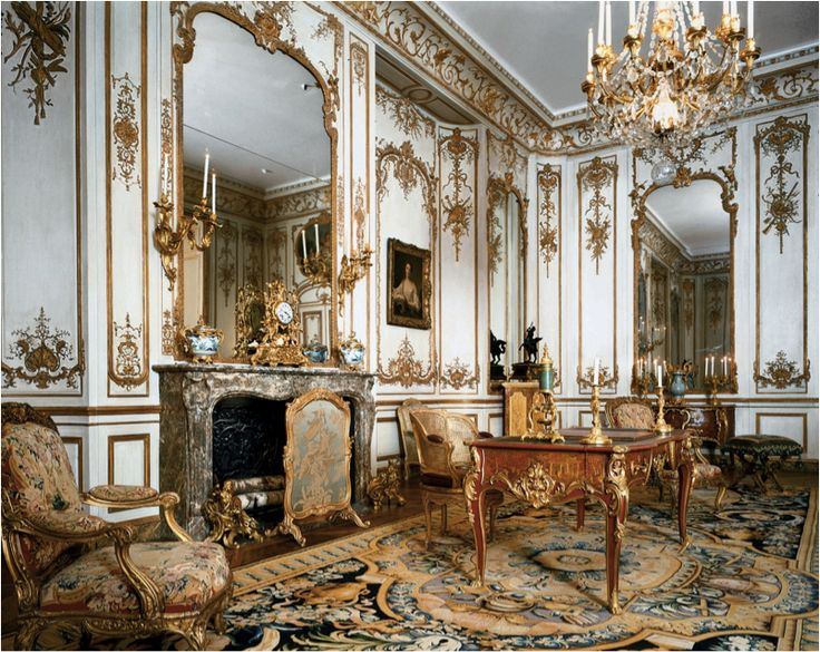 French Baroque Interiors | French Rococo Interior (Htel de