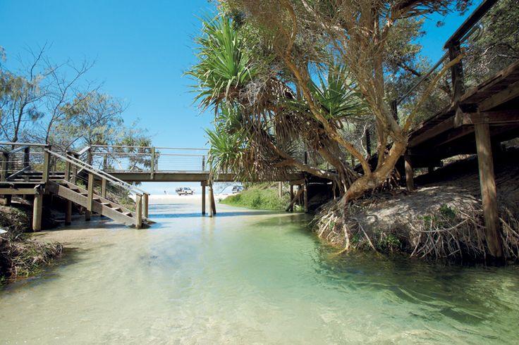 Fraser Island, fresh water creek