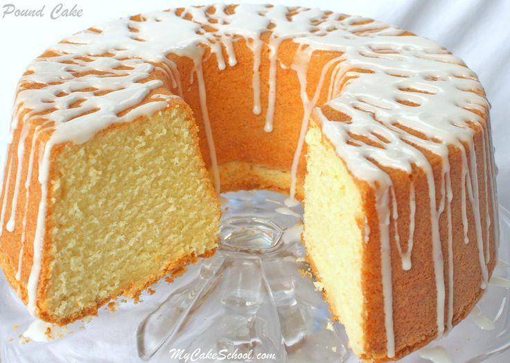 Pound-Cake recipe by MyCakeSchool.com