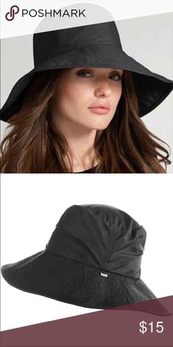 Black tote rain hat Brand new! Accessories Hats