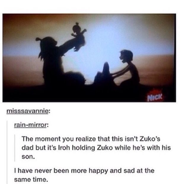 After watching this episode more then 7 times... then i noticed...---l thought this was Ozai holding little Azula with Zuko... But that's not likely so why not make ourselves sad instead?