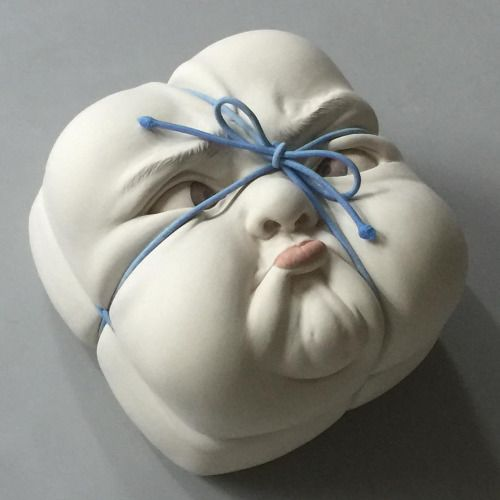 Ceramic Sculptures by Johnson Tsang