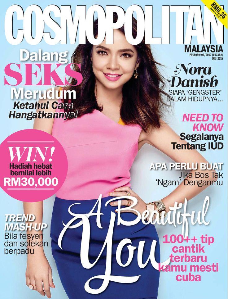Actress, Model, Television Host @ Nora Danish - Cosmopolitan Malaysia, May 2015