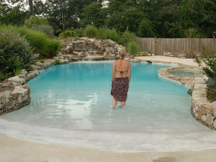 91 best beach entry pools images on pinterest beach entrance pool natural swimming pools and for Bulk water delivery for swimming pools