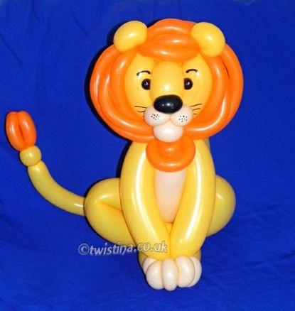 Balloon Lion 7 39 ballerina balloon