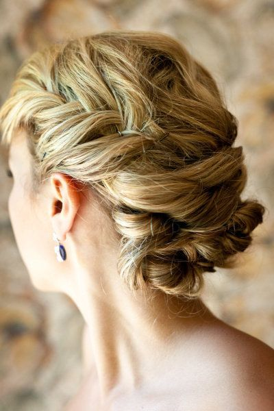loose braid wedding hair Style Me Pretty | Gallery | Picture | #637682